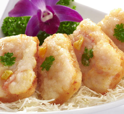 Deep Fried Prawn Toast