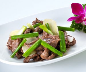 Fried Venison with Spring Onion & Ginger 2